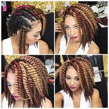 box braids with 2 packs of hair high praise kanekalon jumbo havana twist crochet box braids 12