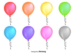 Shiny Colourful Vector Balloons  Download Free Vector Art Stock
