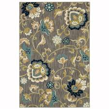 Indoor Area Rugs by Shop Allen Roth Sheltstone Taupe Rectangular Indoor Woven Area