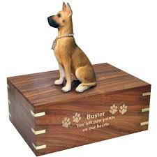 dog urns for ashes great dane dog urns for ashes new memorials direct