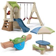 Sears Backyard Playsets Swing And Play Backyard Combo Kids Toy Combo Step2