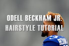 what is a cruddy hair style odell beckham jr hair tutorial youtube