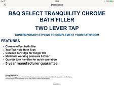 Bathroom Taps B And Q B U0026q Chrome Bathroom Taps Ebay