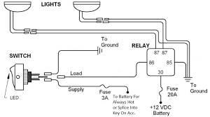 wiring diagram for relay for spotlights wiring diagram