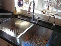 cutting countertop for sink pics of black galaxy granite kitchen countertop with a square sink