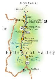 bitterroot mountains map transportation in the bitterroot valley montana weddings