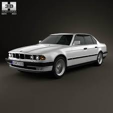 1992 bmw 7 series bmw 7 series e32 1992 3d model hum3d