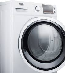 Cloths Dryers Summit Spwd2200w 24 Inch Front Load Washer Dryer Combo With 2 0 Cu