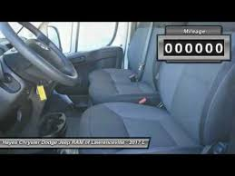 chrysler dodge jeep ram lawrenceville 2017 dodge ram promaster 3500 lawrenceville ga l749003
