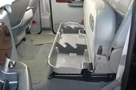 amazon com du ha under seat storage fits 11 16 ford f 250 thru f