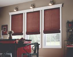 Red Roman Shades Shades Window Coverings San Diego Ca