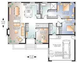 Large Bungalow Floor Plans House Plan W3280 Detail From Drummondhouseplans Com Reverse
