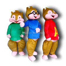 cheap alvin chipmunks costumes free shipping alvin chipmunks