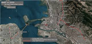 Bart Berryessa Extension Map by Wilshire Vermont Transportation Policy And Politics In