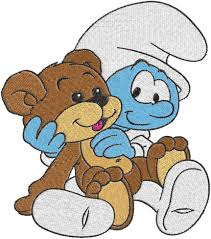 Baby Smurf Meme - baby smurf machine embroidery design 0327 phoenixembroidery on