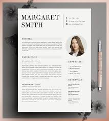 editable resume template resume template cv template editable in ms word and pages instant