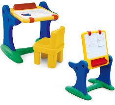 tavolo sedia bimbi banco della scuola con lavagna e sedia chicco 30401