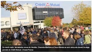 siege credit mutuel la roche jour de grève au crédit mutuel océan unsa arkea