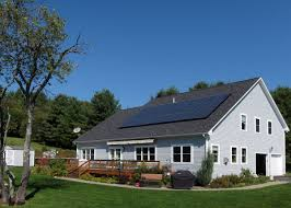 what would solar look like on your saltbox style home