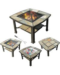 coffee table with cooler spring sale leisurelife rimini 4 in 1 slate coffee table cooler