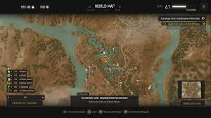 The Witcher 3 World Map by The Witcher 3 How To Get The Grandmaster Feline Gear Usgamer