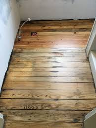Quick Shine Floor Finish Remover by Cleaning Up And Refinishing An Antique Heart Pine Floor Old Town