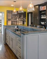 kitchen island with bar top basic u shape and two level bar top and counter top for kitchen