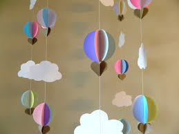 Up Decorations Up Up And Away Baby Shower Decorations Air Balloon