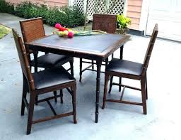 target folding patio table dining set target target outdoor dining table card table chairs