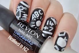 revlon nail art chalkboard nails