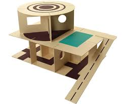Make My Own Toy Box by Carton Chic Foldup Toys Ethical Recycled And Recyclable