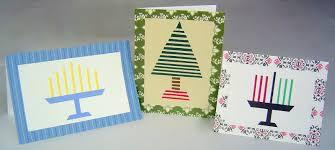diy simple homemade holiday cards christmas hanukkah u0026 kwanzza