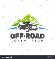 offroad jeep graphics offroad car mountains vector logo offroad stock vector 607218242