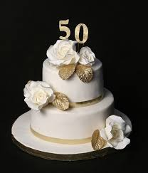 golden wedding cakes wedding anniversary cakes