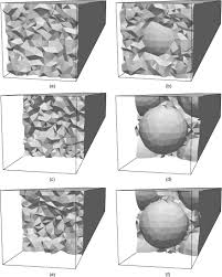 effect of brittle fracture in a metaconcrete slab under shock