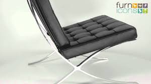barcelona chair replica premium edition youtube