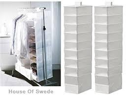 ikea hanging storage ikea skubb hanging storage organiser clothing clothes shoe white