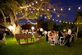 Wedding In Backyard by Best Venues For A Fall Wedding In Orange County Cbs Los Angeles