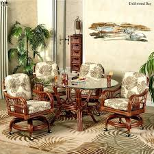 tropical dining room furniture archive with tag tropical rattan dining room sets thesoundlapse com