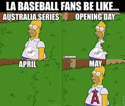 La Dodgers Memes - mlb memes on twitter la baseball fans be like dodgers angels