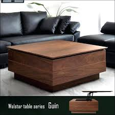 living room table with storage square living room tables creative of small square coffee table