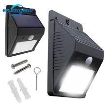 wireless sensor lights outdoor 1pc solar power l pir motion sensor wall light outdoor garden