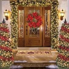 decorations for christmas front porch idea for christmas the holidays