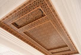 Les Faux Plafond En Platre by Faux Plafond Pour Salon Marocain Moderne Plafond Platre