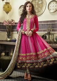 anarkali wedding dress 20 indian wedding dresses you can try this season pink anarkali