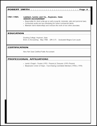 Senior Accountant Sample Resume by Sample Resume Financial Executive