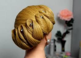 hair wedding updo hairstyle for medium hair wedding updo