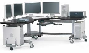 Computer Workstations Desk Work Comfortably On Machine While Keeping It On Computer