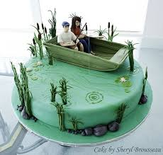 fishing boat cake ideas 951