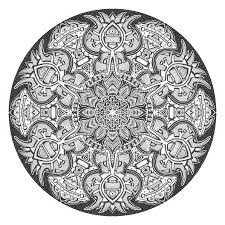 mandala coloring pages advanced level 24300 bestofcoloring com